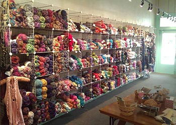 NEVER ENOUGH YARN